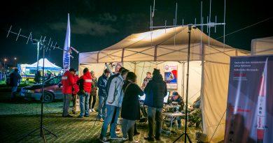 SP EmCom Mazowsze na 9 nocy w Instytucie Lotnictwa